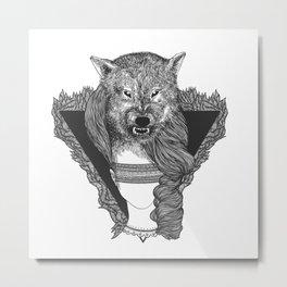shewolf Metal Print
