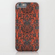 Aya damask orange iPhone 6s Slim Case