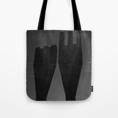 Mysterious Monument with Snow 1 Tote Bag