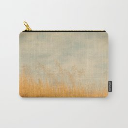 Amber Wave -- Tall Golden Grass in a Blue Ridge Highlands Pasture Carry-All Pouch