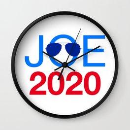 Joe Biden 2020 Aviator Sunglasses Wall Clock
