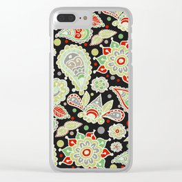 Christmas Party Clear iPhone Case