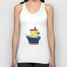 Wherever I Go, My Home Is Always With Me Unisex Tank Top