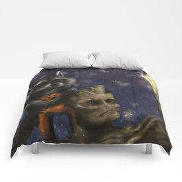 Rocket and Groot. Comforters