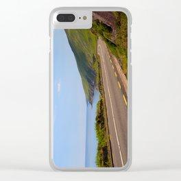 Ireland Ring of Dingle Coastal Road Clear iPhone Case