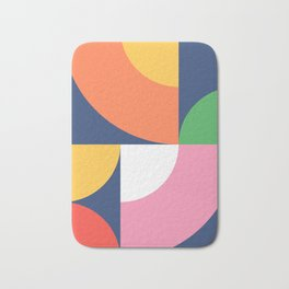 Abstract Geometric 17 Bath Mat
