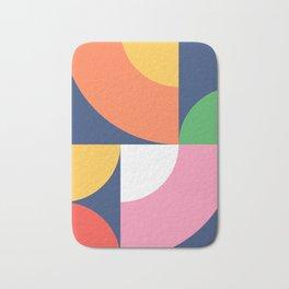 Abstract Geometric 17 Bath Mat