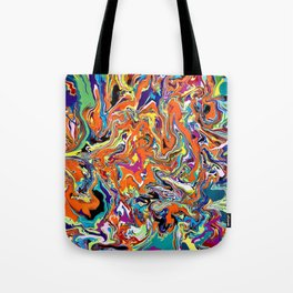 Psychedelic Dream Tote Bag