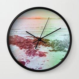 Surreal Beach Wall Clock