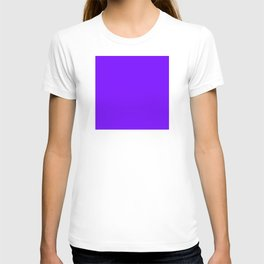 The Future Is Bright Purple  - Solid Color - Jewel Tone T-shirt