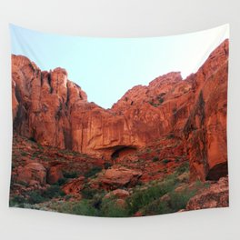Red rocks Wall Tapestry