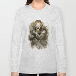 Neolithic huntsman by Anna Helena Szymborska Long Sleeve T-shirt