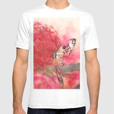 Encounter in Okinawa Mens Fitted Tee White MEDIUM