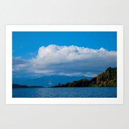 Lago Ranco  // CL Art Print