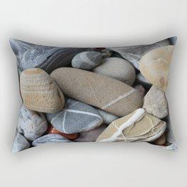 Gaspésie   Les galets Rectangular Pillow