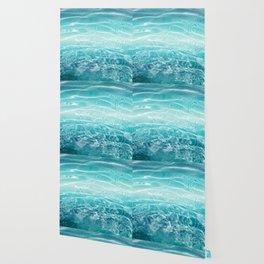 Blue Ocean Dream #1 #water #decor #art #society6 Wallpaper