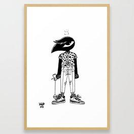 Kendama King Framed Art Print