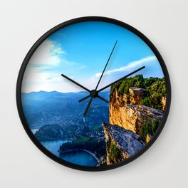 A View To Everything French Riviera Wall Clock