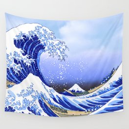 Surf's Up! The Great Wave Wall Tapestry