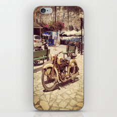 Motorcycle iPhone Skin