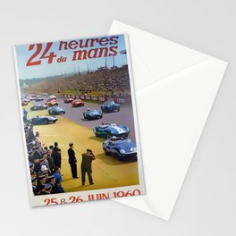24 Hours of Le Mans 1960 Stationery Cards