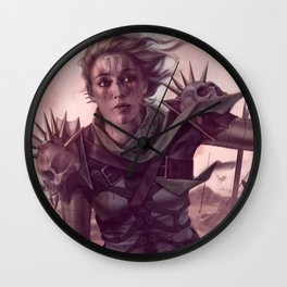 Warrior Decapitation Wall Clock