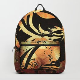 Yin and Yang Dragons Artwork Backpack