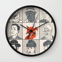 Londoners Wall Clock