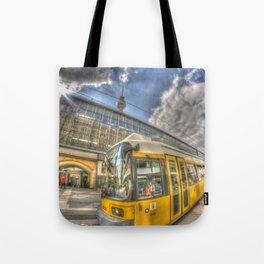Berlin Tram Tote Bag