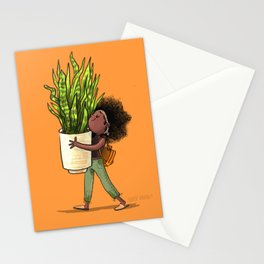 Snake Plant Stationery Cards