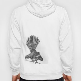 New Zealand fat fuzzy fantail Hoody