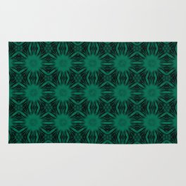 Lush Meadow Floral Abstract Rug
