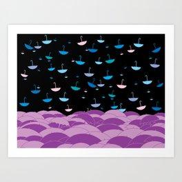 umbrellequitte Art Print