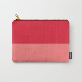 Raspberry & Watermelon Pink Carry-All Pouch