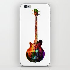 GUITAR MUSIC iPhone & iPod Skin