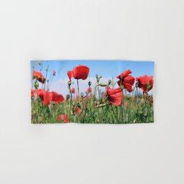 poppy flower no13 Hand & Bath Towel