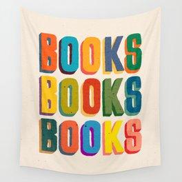 Books books books Wall Tapestry