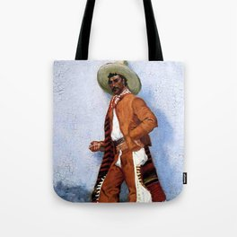"Frederic Remington Western Art ""A Vaquero"" Tote Bag"