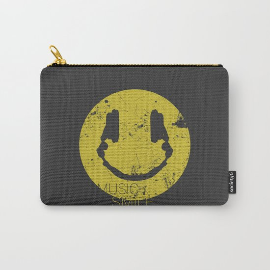 Music Smile Carry-All Pouch
