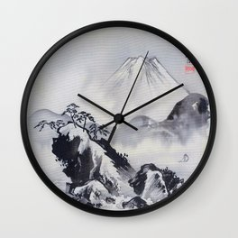 Mount Fuji - Digital Remastered Edition Wall Clock