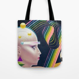 Sonic Geometry Tote Bag