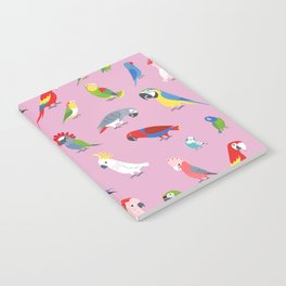 Parrots by Lili Chin Notebook