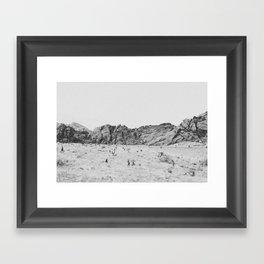 RED ROCK CANYON / Nevada Framed Art Print