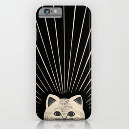 Good Morning son - Kitty 2 iPhone Case