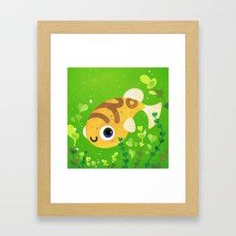 Dwarf puffer Framed Art Print