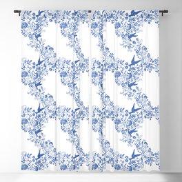 Bluebirds Blackout Curtain