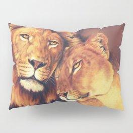 Lions Soulmates Pillow Sham