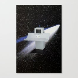 Untitled (Computer in Space) Canvas Print