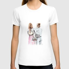 Street style girls T-shirt