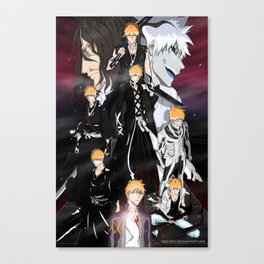 Ichigo Evolution Canvas Print